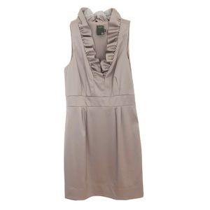 Taylor Satin Sleeveless Cocktail Dress Sz 10